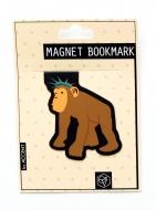 マグネットブックマーク Monkey (文具)