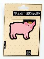 マグネットブックマーク Pig (文具)