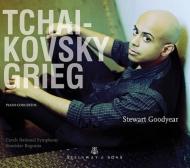 チャイコフスキー:ピアノ協奏曲第1番、グリーグ:ピアノ協奏曲 グッドイヤー、ボグニア&チェコ・ナショナル響