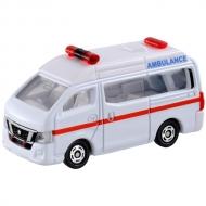 トミカ 018 日産 NV350 キャラバン 救急車(ブリスター)