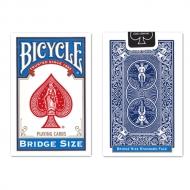 バイスクル トランプ ブリッジサイズ青