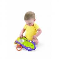 フィッシャープライス はじめてのおもちゃ どうぶついっぱい!おでかけ布えほん