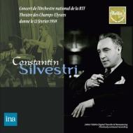 Dvorak Symphony No.9, Mozart Piano Concerto No.19, Debussy, Ravel : Silvestri / French National Radio Orchestra, Haskil(P)(1959 Stereo)(2CD)