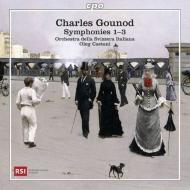 交響曲第1番、第2番、第3番 カエターニ&スイス・イタリア語放送管弦楽団