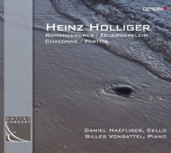 Romancendres, Feuerwerklein, Chaconne, Partita: D.haefliger(Vc)Vonsattel(P)