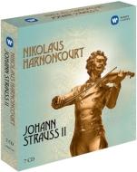 『こうもり』全曲、『ジプシー男爵』全曲、ワルツ集、ニューイヤー・コンサート2001より アーノンクール(7CD)