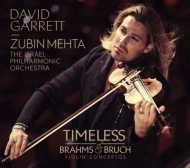 ブラームス:ヴァイオリン協奏曲、ブルッフ:ヴァイオリン協奏曲第1番 デイヴィッド・ギャレット、メータ&イスラエル・フィル(+DVD)
