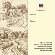 シールド、ウィリアム(1748-1829)/Rosina(Hlts): Bonynge / Lso Elkins Harwood Sinclair R.tear