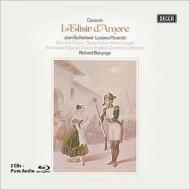 『愛の妙薬』全曲 ボニング&イギリス室内管、パヴァロッティ、サザーランド、他(1970 ステレオ)(2CD+ブルーレイ・オーディオ)
