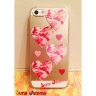 iPhone5&5sケース ピンクオパールカモフラージュ  淳士プロデュースブランド/Juny Jammy【Loppi&HMV限定特典】