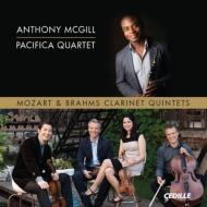 モーツァルト:クラリネット五重奏曲、ブラームス:クラリネット五重奏曲 アンソニー・マギル、パシフィカ四重奏団