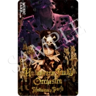 Halloween Party MUSIC CARD HALLOWEEN JUNKY ORCHESTRA ver.(TypeB)
