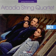 Mendelssohn String Quartet No.2, Brahms String Quartet No.2 : Arcadia String Quartet