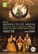 『イポリートとアリシー』全曲 I.アレクサンドル演出、アイム&ル・コンセール・ダストレ、レーティプー、ジレ、他(2012 ステレオ)(2DVD)