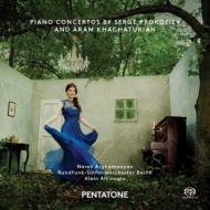 ハチャトゥリアン:ピアノ協奏曲、プロコフィエフ:ピアノ協奏曲第3番 アルガマニヤン、アルティノグル&ベルリン放送響