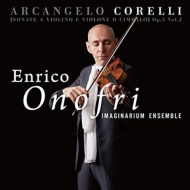 Violin Sonatas Op, 5, Vol.2: Onofri(Vn)Imaginarium Ensemble