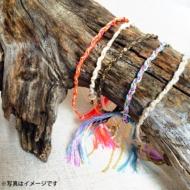 祈りのミサンガ゛(オレンジ/ピンク)Minmi×青山テルマ FREEDOM
