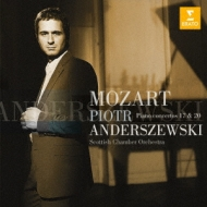 モーツァルト(1756-1791)/Piano Concerto 17 20 : Anderszewski(P) / Scottish Co