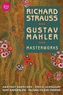 Mahler Symphonies Nos.1, 6, Das Lied von der Erde : Leinsdorf / Haenchen / Kurt Sanderling +R.Strauss : Tilson Thomas (5DVD)