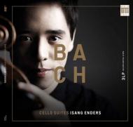 無伴奏チェロ組曲(全曲):イサン・エンダース(チェロ)(3枚組アナログレコード)