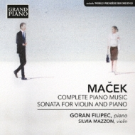 Comp.piano Works, Violin Sonata: Filipec(P)Mazzon(Vn)
