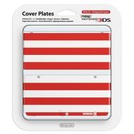 ローチケHMVGame Accessory (New Nintendo 3DS)/きせかえプレート No.043 レッドホワイトボーダー
