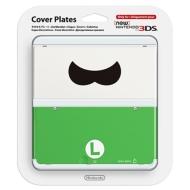 ローチケHMVGame Accessory (New Nintendo 3DS)/きせかえプレート No.048 ルイージヒゲ