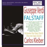 Falstaff : Carlos Kleiber / Zurich Opera, Mittelmann, Justus, Steinhoff, Spani, De Groot, etc (1965 Monaural)(2CD)