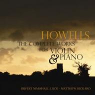 ヴァイオリンとピアノのための作品全集 マーシャル=ラック、リッカード(2CD)