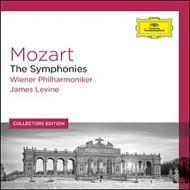 モーツァルト(1756-1791)/Comp. symphonies: Levine / Vpo