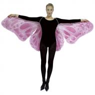 蝶々の翅(はね)ピンク