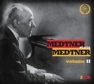『メトネル・プレイズ・メトネル』第2集〜ピアノ協奏曲集 ドブロウェン&フィルハーモニア管、他(2CD)
