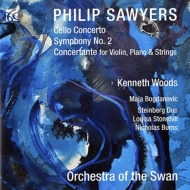 Sym, 2, Cello Concerto, Concerto For Violin & Piano: K.woods / Orch Of The Swan Bogdanovic Steinberg Duo
