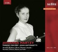 ドヴォルザーク:ヴァイオリン協奏曲(放送音源)、ブラームス:ソナタ第1番、他 マルツィ、フリッチャイ&RIAS響、アントニエッティ(1953〜66)(2CD)