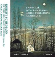 Piano Sonata, 2, Abegg Variations, Arabeske, Carnaval: Brownridge