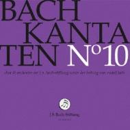 バッハ(1685-1750)/Cantatas Vol.10: R.lutz / J S Bach Stiftung O & Cho