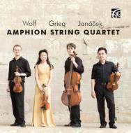 Amphion Sq: Grieg: String Quartet, 1, Janacek: Quartet, 2, Wolf