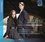 Paris!-stravinsky: Petrouchka, Debussy, Ravel: Piano Duo Scholtes & Janssens