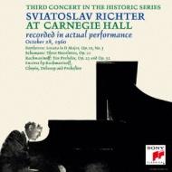 ラフマニノフ:前奏曲集、ベートーヴェン:ピアノ・ソナタ第7番、他 リヒテル(カーネギー・ホール・ライヴ1960)(2CD)