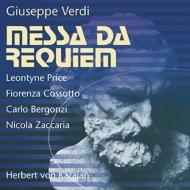ヴェルディ(1813-1901)/Requiem: Karajan / Teatro Alla Scala L.price Cossotto Bergonzi Zaccaria (1964 Mosco
