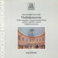 ヴァイオリン協奏曲集 ヤープ・シュレーダー、コンチェルト・アムステルダム