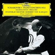 チャイコフスキー:ピアノ協奏曲第1番、ラフマニノフ:前奏曲集 リヒテル、カラヤン&ウィーン響