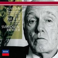 ハイドン(1732-1809)/Piano Sonata 24 52 : Sviatoslav Richter +c.m.von Weber: Sonata 3 (Ltd)