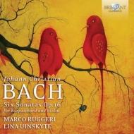 チェンバロとヴァイオリンのための6つのソナタ ルッジェーリ、ウィンスキーテ