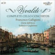 ヴィヴァルディ(1678-1741)/Comp. cello Concerto: Galligioni(Vc) Guglielmo / L'arte Dell'arco
