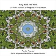 リコーダー作品集〜忙しいハチと鳥、夜想う鳥、ダンス・バガテル、アリア、炎の鏡 ペーターセン、メッサー四重奏団、他