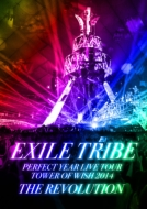EXILE TRIBE PERFECT YEAR LIVE TOUR TOWER OF WISH 2014 ~THE REVOLUTION~(5枚組LIVE DVD)【初回生産限定豪華盤】