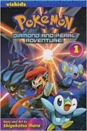Pokemon Diamond & Pearl Adventure Gn Vol 01(洋書)
