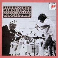 メンデルスゾーン:ヴァイオリン協奏曲、チャイコフスキー:ヴァイオリン協奏曲 スターン、小澤征爾&ボストン響、ロストロポーヴィチ&ワシントン・ナショナル響