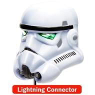 Lightningコネクタ 顔型AC充電器2A/ STARWARS(ストームトルーパー)